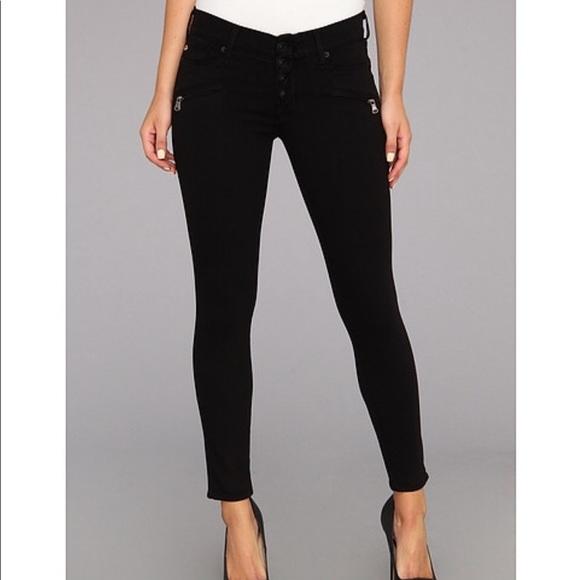 d747f8cb2c5 Hudson Jeans Denim - Hudson Krista Exposed Fly Super Skinny Black Jeans